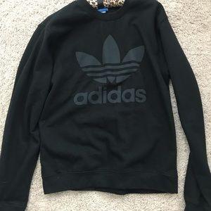 Women's adidas black sweater